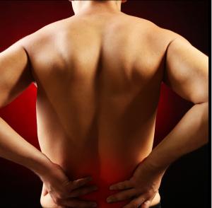 rugpijn blessure stress