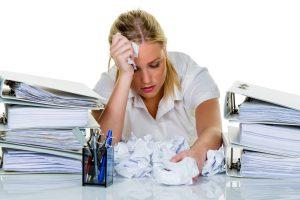 faalangst stress burnout