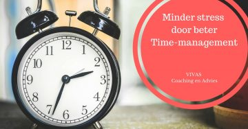 Minder stress door beter time-management