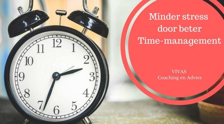 minder stress beter timemanagement