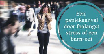 paniekaanval stress burnout faalangst burn-out