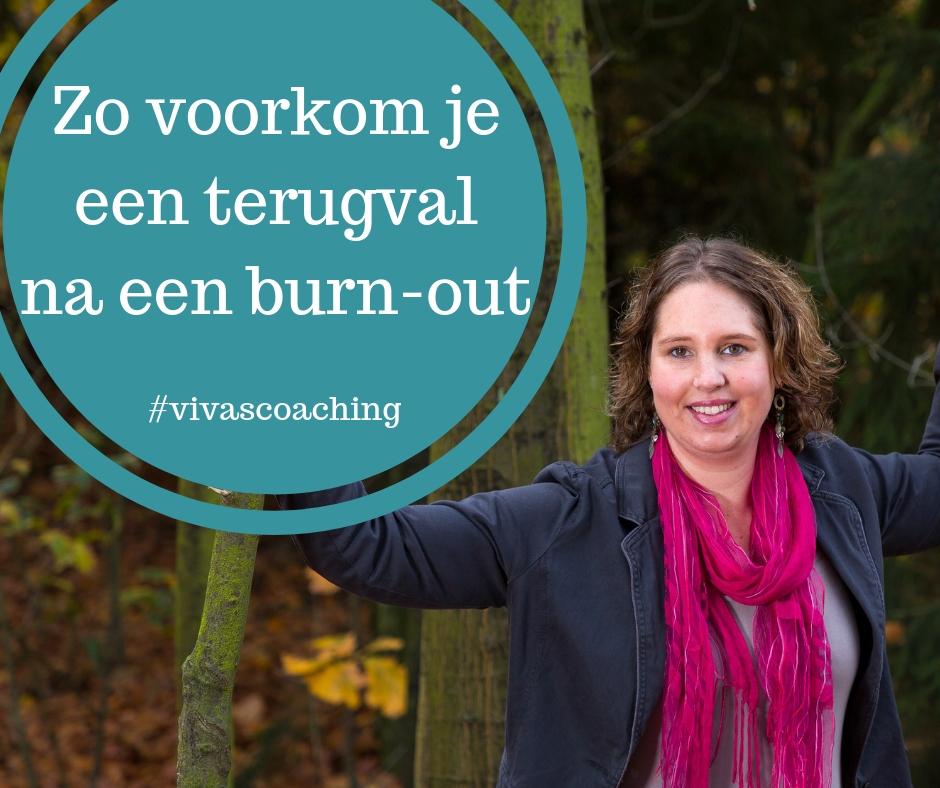 terugval bij of na een burnout voorkomen stress tips