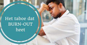 burnout burn-out taboe overspannen overwerkt depressie bespreken praten delen