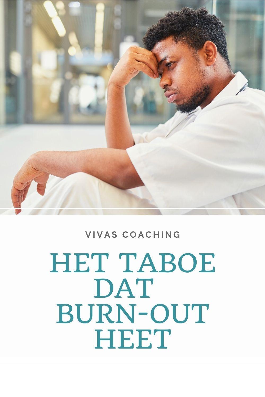 Het taboe dat burn-out heet