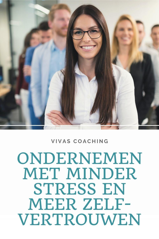 Ondernemen met minder stress en meer zelfvertrouwen