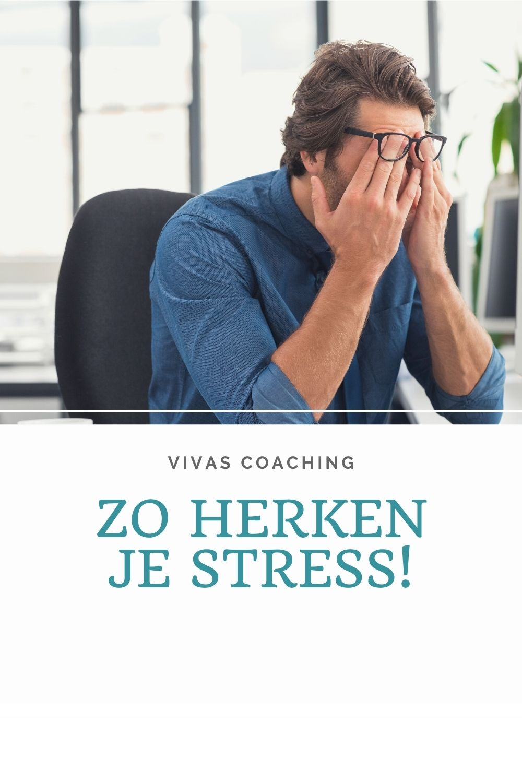 Zo herken je stress!