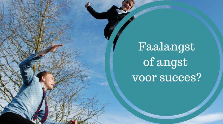 faalangst of angst voor succes succesangst